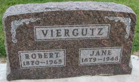 VIERGUTZ, JANE - Cedar County, Nebraska | JANE VIERGUTZ - Nebraska Gravestone Photos