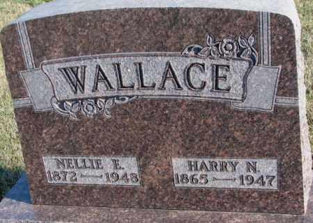 WALLACE, HARRY N. - Cedar County, Nebraska   HARRY N. WALLACE - Nebraska Gravestone Photos