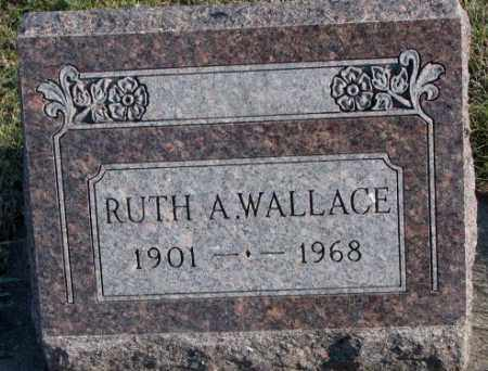 WALLACE, RUTH A. - Cedar County, Nebraska   RUTH A. WALLACE - Nebraska Gravestone Photos