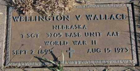 WALLACE, WELLINGTON V. - Cedar County, Nebraska | WELLINGTON V. WALLACE - Nebraska Gravestone Photos