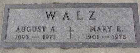 WALZ, MARY E. - Cedar County, Nebraska | MARY E. WALZ - Nebraska Gravestone Photos