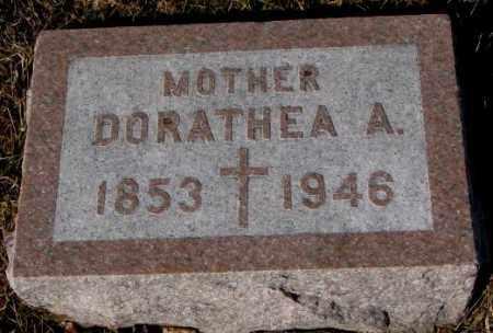 WALZ, DORATHEA A. - Cedar County, Nebraska | DORATHEA A. WALZ - Nebraska Gravestone Photos