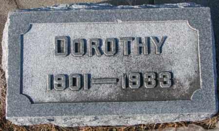 WALZ, DOROTHY - Cedar County, Nebraska | DOROTHY WALZ - Nebraska Gravestone Photos