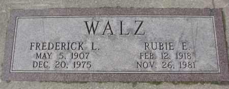 WALZ, FREDERICK L. - Cedar County, Nebraska | FREDERICK L. WALZ - Nebraska Gravestone Photos