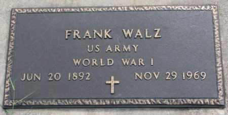 WALZ, FRANK (WW I) - Cedar County, Nebraska | FRANK (WW I) WALZ - Nebraska Gravestone Photos