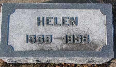 WALZ, HELEN - Cedar County, Nebraska | HELEN WALZ - Nebraska Gravestone Photos