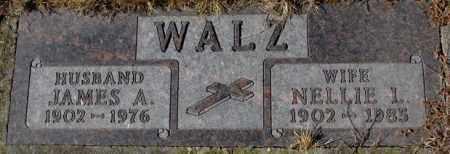 WALZ, NELLIE I. - Cedar County, Nebraska | NELLIE I. WALZ - Nebraska Gravestone Photos