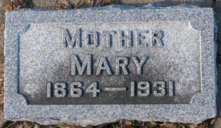 WALZ, MARY - Cedar County, Nebraska | MARY WALZ - Nebraska Gravestone Photos