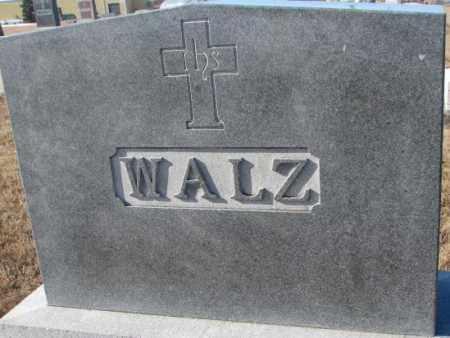 WALZ, PLOT - Cedar County, Nebraska | PLOT WALZ - Nebraska Gravestone Photos