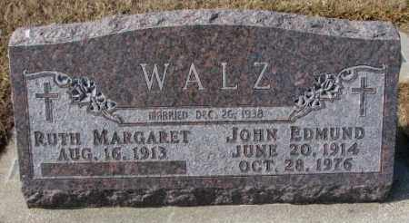 WALZ, RUTH MARGARET - Cedar County, Nebraska | RUTH MARGARET WALZ - Nebraska Gravestone Photos