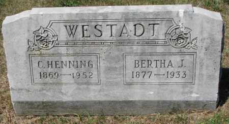 WESTADT, C. HENNING - Cedar County, Nebraska | C. HENNING WESTADT - Nebraska Gravestone Photos