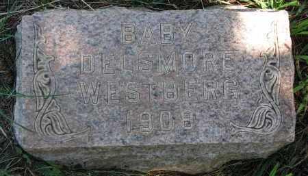 WESTBERG, DELMORE - Cedar County, Nebraska   DELMORE WESTBERG - Nebraska Gravestone Photos