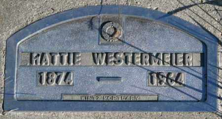 WESTERMEIER, HATTIE - Cedar County, Nebraska | HATTIE WESTERMEIER - Nebraska Gravestone Photos