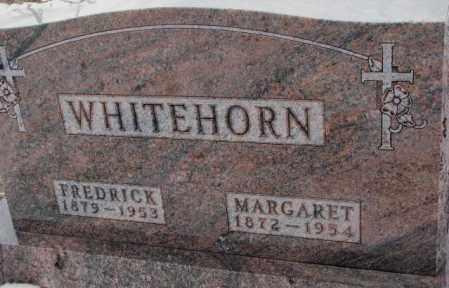 WHITEHORN, FREDRICK - Cedar County, Nebraska | FREDRICK WHITEHORN - Nebraska Gravestone Photos