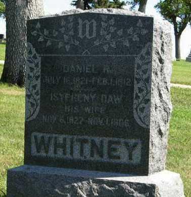 WHITNEY, ISYPHENY - Cedar County, Nebraska | ISYPHENY WHITNEY - Nebraska Gravestone Photos