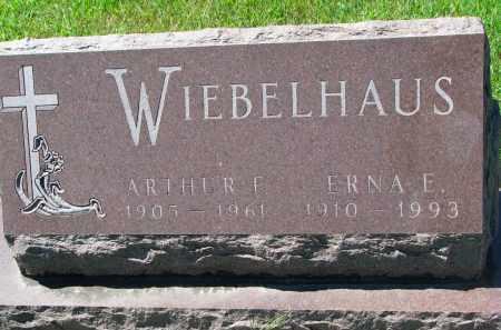 WIEBELHAUS, ARTHUR F. - Cedar County, Nebraska | ARTHUR F. WIEBELHAUS - Nebraska Gravestone Photos