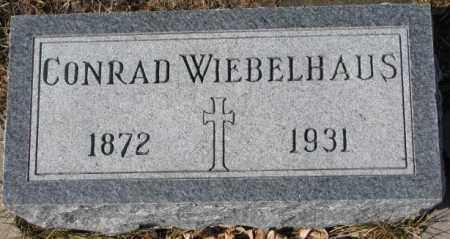 WIEBELHAUS, CONRAD - Cedar County, Nebraska | CONRAD WIEBELHAUS - Nebraska Gravestone Photos