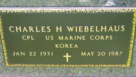 WIEBELHAUS, CHARLES H. (MILITARY) - Cedar County, Nebraska   CHARLES H. (MILITARY) WIEBELHAUS - Nebraska Gravestone Photos