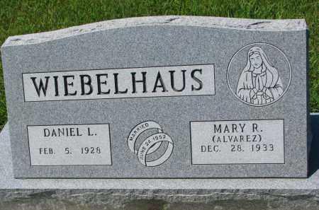 WIEBELHAUS, MARY R. - Cedar County, Nebraska | MARY R. WIEBELHAUS - Nebraska Gravestone Photos