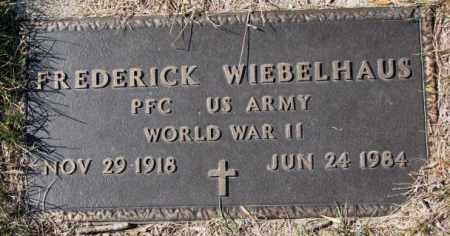 WIEBELHAUS, FREDERICK (WW II) - Cedar County, Nebraska | FREDERICK (WW II) WIEBELHAUS - Nebraska Gravestone Photos