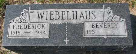 WIEBELHAUS, BEVERLY - Cedar County, Nebraska | BEVERLY WIEBELHAUS - Nebraska Gravestone Photos