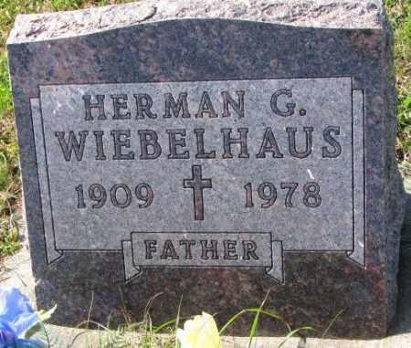 WIEBELHAUS, HERMAN G. - Cedar County, Nebraska | HERMAN G. WIEBELHAUS - Nebraska Gravestone Photos