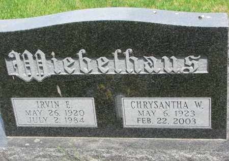 WIEBELHAUS, CHRYSANTHA W. - Cedar County, Nebraska | CHRYSANTHA W. WIEBELHAUS - Nebraska Gravestone Photos