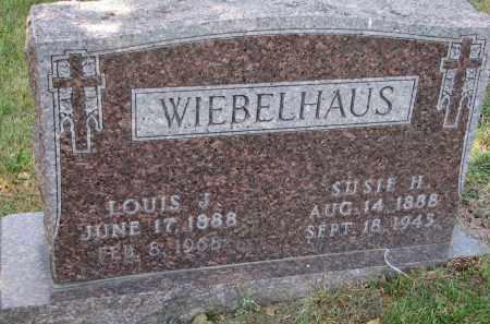 WIEBELHAUS, SUSIE H. - Cedar County, Nebraska | SUSIE H. WIEBELHAUS - Nebraska Gravestone Photos