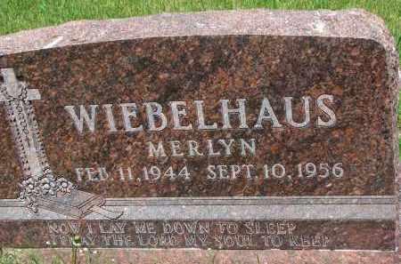 WIEBELHAUS, MERLYN - Cedar County, Nebraska | MERLYN WIEBELHAUS - Nebraska Gravestone Photos