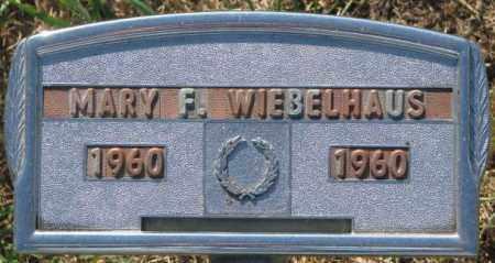 WIEBELHAUS, MARY F. - Cedar County, Nebraska | MARY F. WIEBELHAUS - Nebraska Gravestone Photos