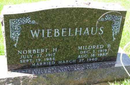 WIEBELHAUS, MILDRED P. - Cedar County, Nebraska | MILDRED P. WIEBELHAUS - Nebraska Gravestone Photos