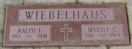 WIEBELHAUS, RALPH F. - Cedar County, Nebraska | RALPH F. WIEBELHAUS - Nebraska Gravestone Photos
