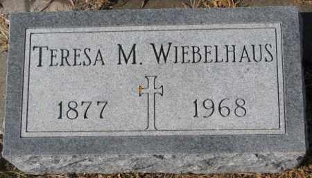 WIEBELHAUS, TERESA M. - Cedar County, Nebraska   TERESA M. WIEBELHAUS - Nebraska Gravestone Photos