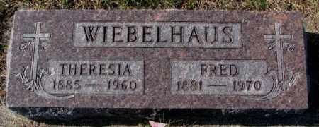 WIEBELHAUS, THERESIA - Cedar County, Nebraska | THERESIA WIEBELHAUS - Nebraska Gravestone Photos