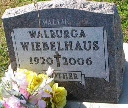 WIEBELHAUS, WALBURGA - Cedar County, Nebraska | WALBURGA WIEBELHAUS - Nebraska Gravestone Photos