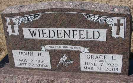 WIEDENFELD, IRVIN H. - Cedar County, Nebraska | IRVIN H. WIEDENFELD - Nebraska Gravestone Photos