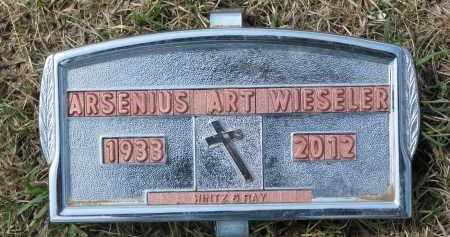 WIESELER, ARSENIUS ART - Cedar County, Nebraska   ARSENIUS ART WIESELER - Nebraska Gravestone Photos