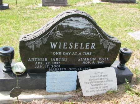 WIESELER, SHARON ROSE - Cedar County, Nebraska | SHARON ROSE WIESELER - Nebraska Gravestone Photos