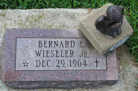 WIESELER, BERNARD E. JR. - Cedar County, Nebraska   BERNARD E. JR. WIESELER - Nebraska Gravestone Photos