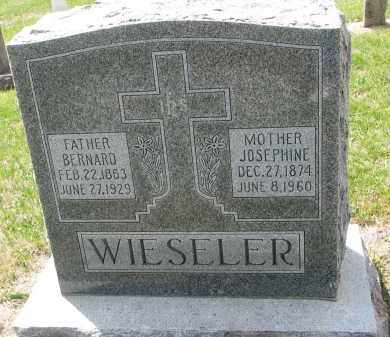 WIESELER, JOSEPHINE - Cedar County, Nebraska | JOSEPHINE WIESELER - Nebraska Gravestone Photos