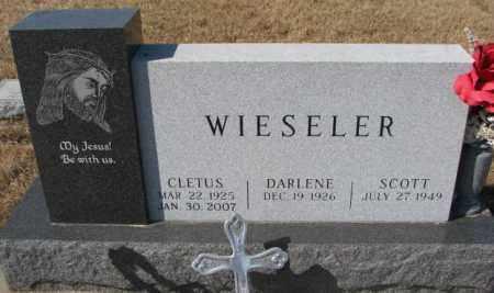 WIESELER, CLETUS - Cedar County, Nebraska | CLETUS WIESELER - Nebraska Gravestone Photos