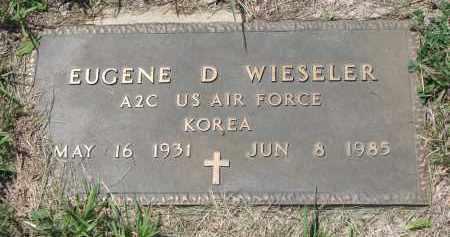 WIESELER, EUGENE D. (MILITARY) - Cedar County, Nebraska | EUGENE D. (MILITARY) WIESELER - Nebraska Gravestone Photos