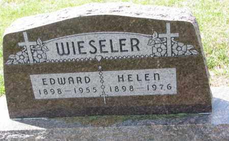 WIESELER, EDWARD - Cedar County, Nebraska | EDWARD WIESELER - Nebraska Gravestone Photos