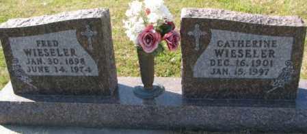 WIESELER, FRED - Cedar County, Nebraska   FRED WIESELER - Nebraska Gravestone Photos