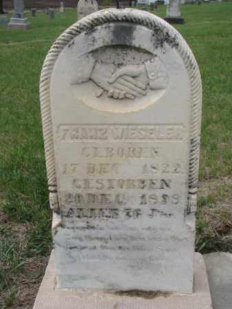 WIESELER, FRANZ - Cedar County, Nebraska   FRANZ WIESELER - Nebraska Gravestone Photos