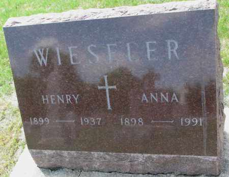 WIESELER, HENRY BENARD - Cedar County, Nebraska | HENRY BENARD WIESELER - Nebraska Gravestone Photos