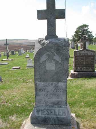 WIESELER, JOHN - Cedar County, Nebraska   JOHN WIESELER - Nebraska Gravestone Photos