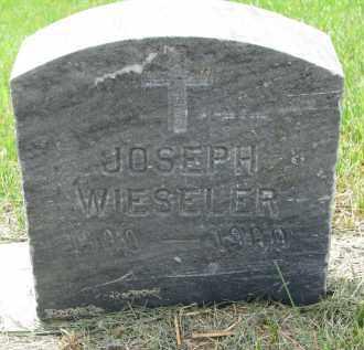 WIESELER, JOSEPH - Cedar County, Nebraska | JOSEPH WIESELER - Nebraska Gravestone Photos