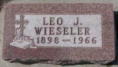 WIESELER, LEO J. - Cedar County, Nebraska | LEO J. WIESELER - Nebraska Gravestone Photos