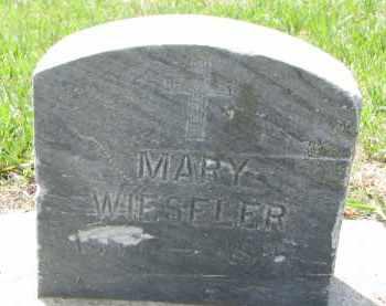 WIESELER, MARY - Cedar County, Nebraska | MARY WIESELER - Nebraska Gravestone Photos